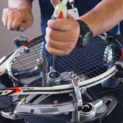 racordare racheta tenis dax tenis